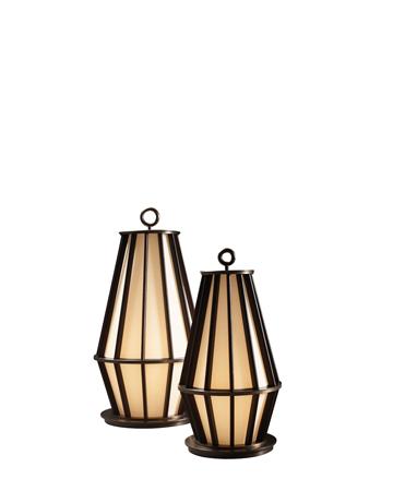 Mirtilla LED落地灯采用铜质和木质结构,丝绸灯罩,请参见Promemoria Amaranthine Tales系列|Promemoria