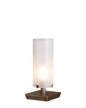 Marguerite台灯采用铜质结构和玻璃灯罩,请参见Promemoria产品目录|Promemoria