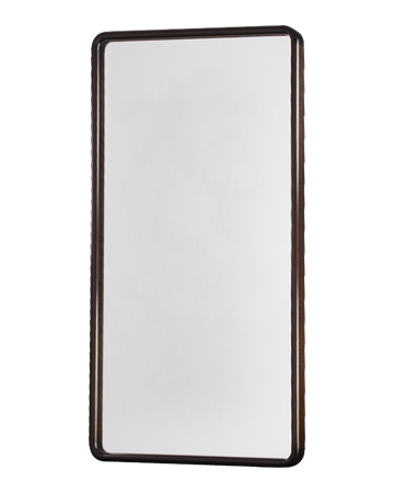 Ey-de-Net is a wall mirror with a wooden frame or completely covered in leather, that belongs to the Night Tales collection of Promemoria | Promemoria
