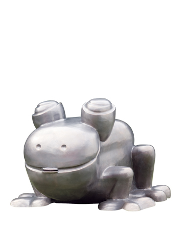 Rana Fontana is a bronze fountain shaped like a frog, Promemoria's mascot, from Promemoria's catalogue | Promemoria