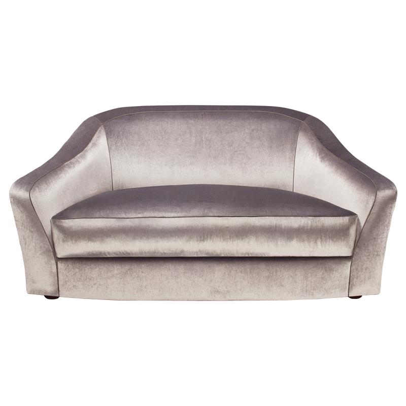 Fiore di Loto is a sofa covered in fabric or leather, from Promemoria's catalogue | Promemoria