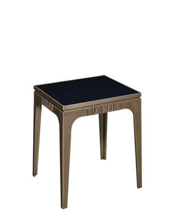 Lowndes is a bronze small table with bronze details, from Promemoria's The Londong Collection | Promemoria