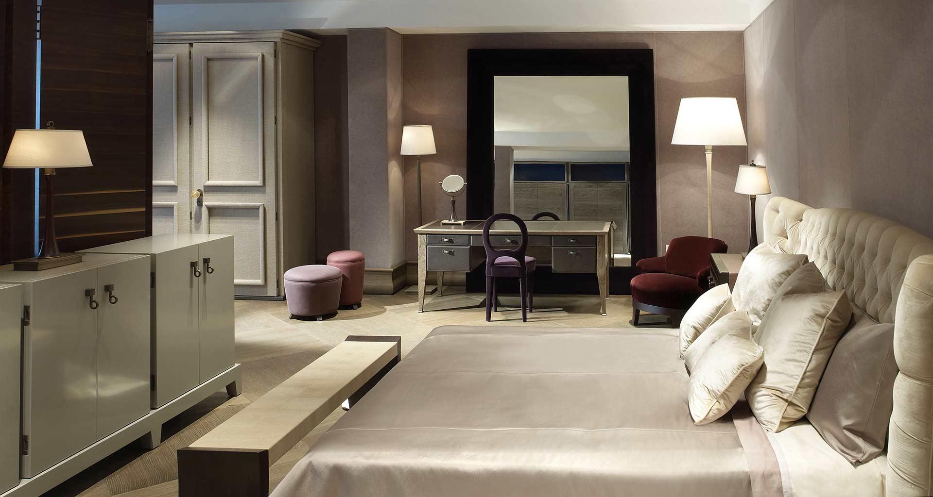 Bedroom in Promemoria's single-brand showroom in New York | Promemoria